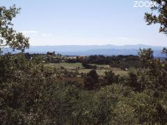 photo de Tourtour, village dans le ciel de Provence
