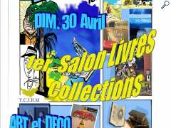 photo de salon du livre collections art et deco